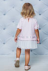 Платье детское  с фатиновой юбкой Розовая , фото 2