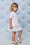 Платье детское  с фатиновой юбкой Розовая , фото 3