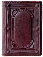 Кожаный Ежедневник А5 Цвет бордо, фото 1