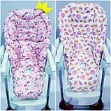 Двухсторонний чехол на стульчик для кормления Peg Perego Tatamia, фото 10