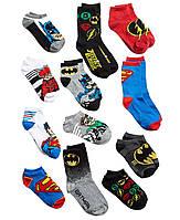 Носки подарочный набор 12 пар размер 28-35 Лига Справедливости / Justice League DC