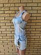 Платье летнее джинсовое стрейчевое модное LDM, фото 3