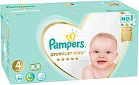 Подгузники Pampers Premium Care  4 (9-14 кг), 104 шт.