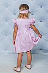 Платье детское Розовое в горошек  , фото 3