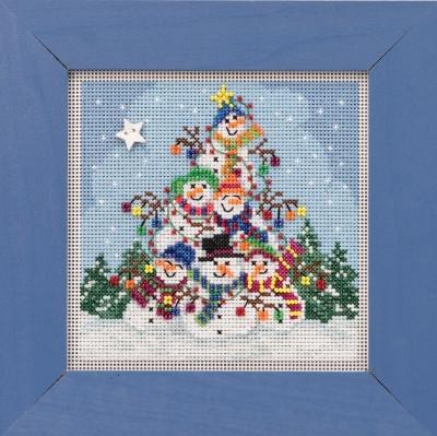 Набор для вышивки Snowman Pile Mill Hill