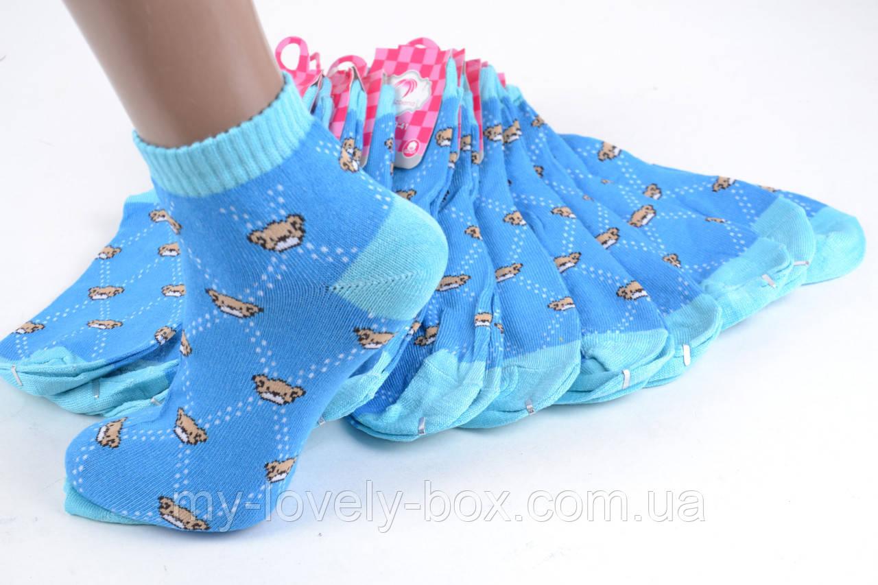 ОПТОМ.Женские носки заниженые с узором (TKB30/14) | 12 пар