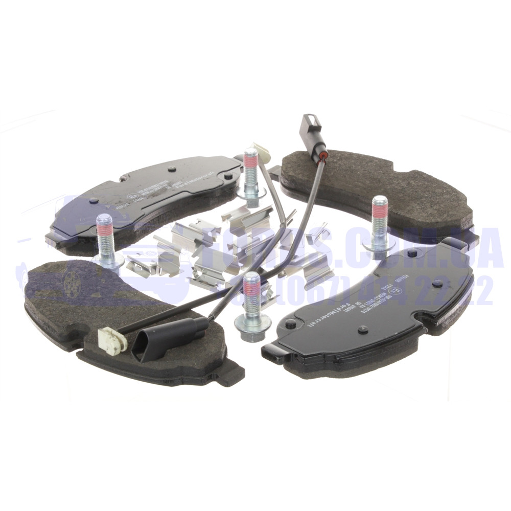 Колодки гальмівні передні FORD TRANSIT 2014- (Спарка) (1840479/BK312K021AC/2006028) ORIGINAL