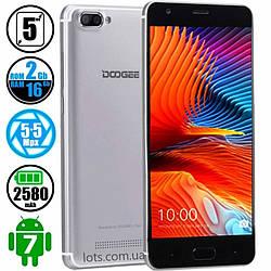 Смартфон Doogee X20 L 2/16Gb Silver + (Подарок Бампер)