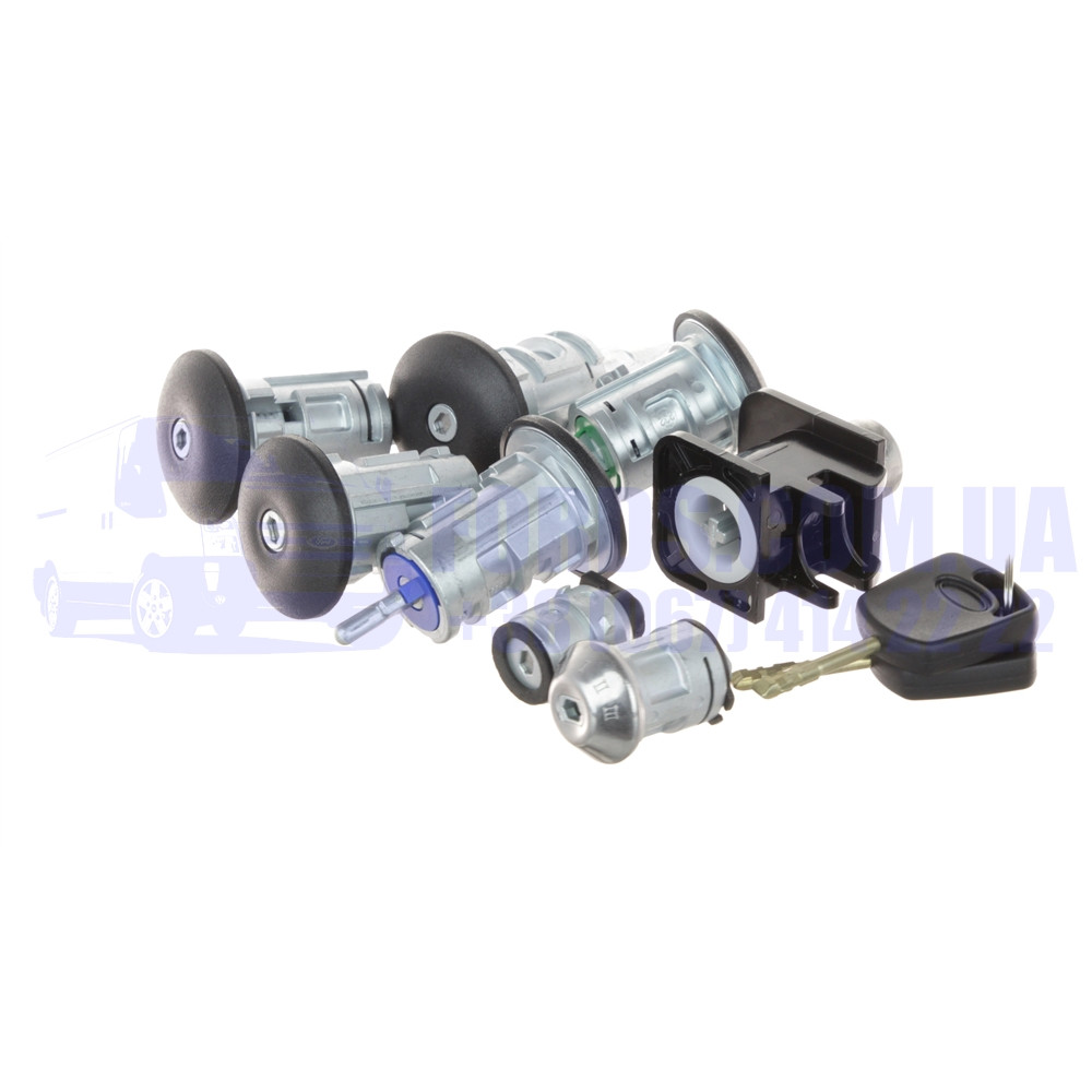 Комплект личинок замков FORD CONNECT 2002-2006 (8ШТ) (4425134/2T1AV22050AD/HMP2T1AV22050AD) HMPX