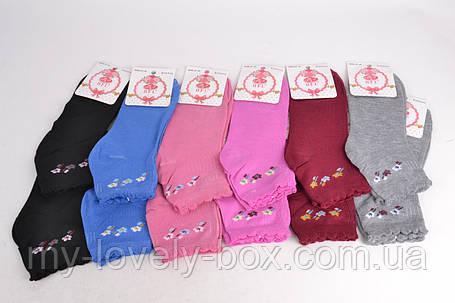 ОПТОМ.Женские заниженные носки с узором р. 37-41 (E149) | 12 пар, фото 2
