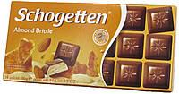 Шоколад молочный Schogеtten Almond Brittle (с Мигдальными крошками) 100г.