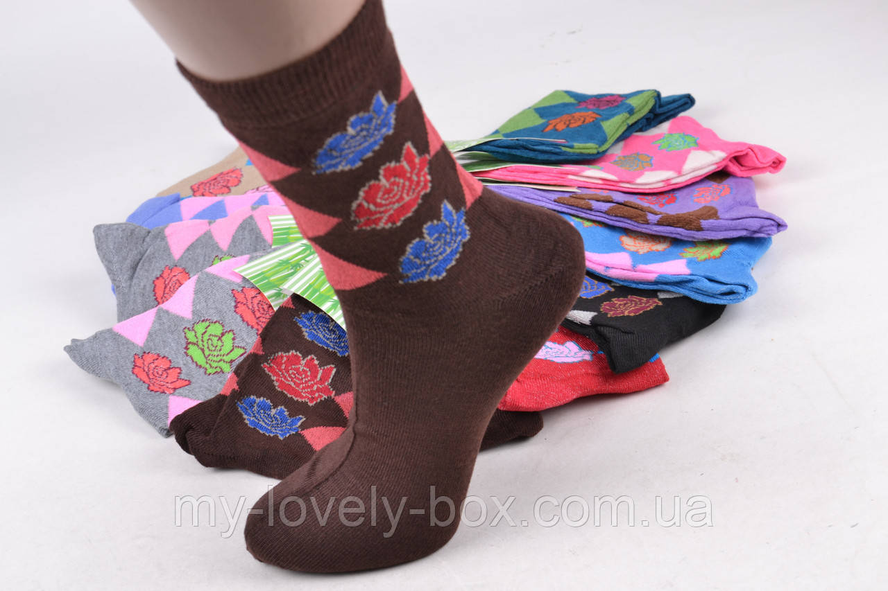ОПТОМ.Женские носки БАМБУК (Арт. YB6/2) | 12 пар