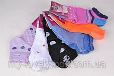 ОПТОМ.Женские Хлопковые носки с рисунком (BF8888) | 12 пар, фото 3