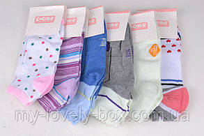 ОПТОМ.Женские Хлопковые носки с узором (BF8886)   12 пар, фото 3