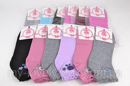 ОПТОМ.Женские Хлопковые носки с рисунком (E148) | 12 пар, фото 2