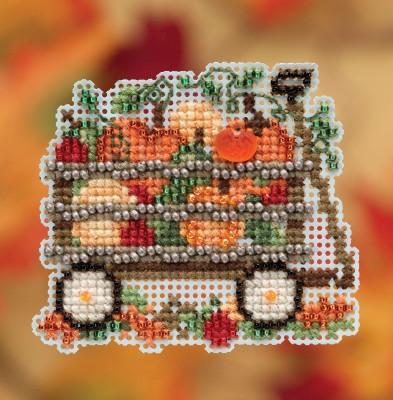 Набор для вышивки Harvest Wagon Mill Hill