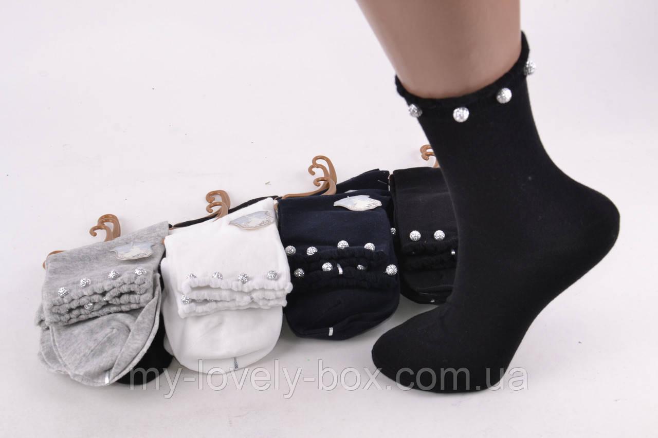 """ОПТОМ.Носки женские нарядные """"Cotton"""" (Арт. NDX1079)   12 пар"""