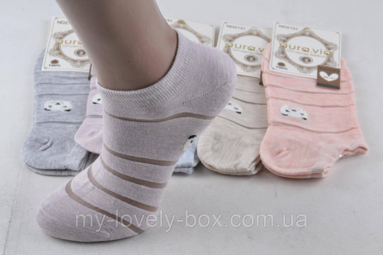 """ОПТОМ.Женские носки заниженные """"Cotton"""" (Арт. ND2131/35-38)   5 пар"""