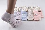 """ОПТОМ.Женские носки заниженные """"Cotton"""" (Арт. ND2131/35-38)   5 пар, фото 2"""