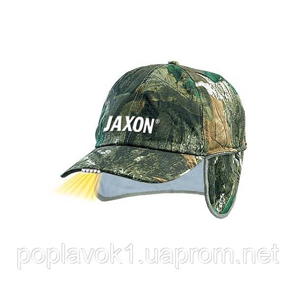 Кепка с фонариком Jaxon утепленная