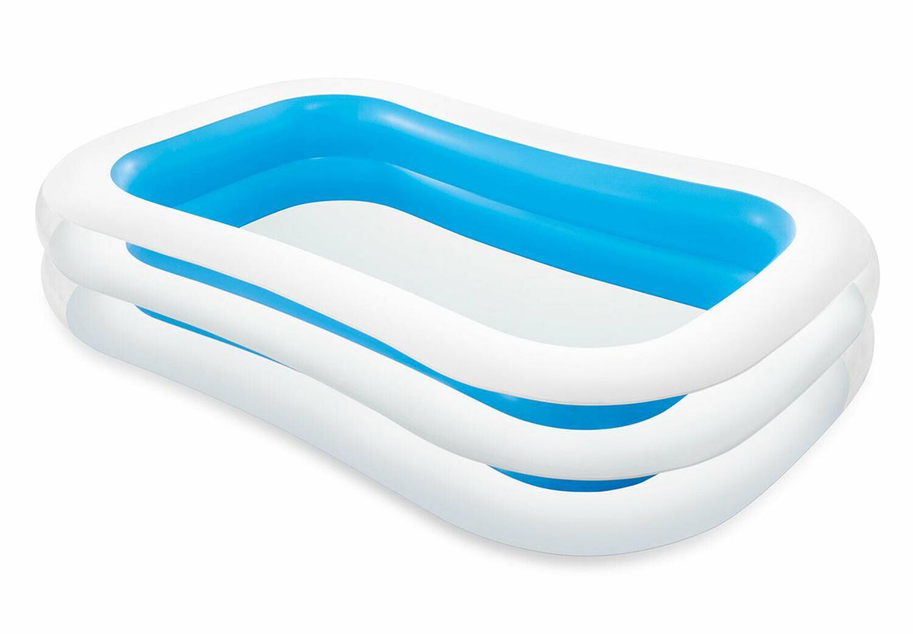 Детский надувной бассейн Intex 262x175х56 cм  (56483)