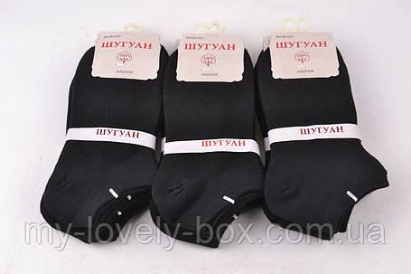 "ОПТОМ.Женские Хлопковые носки ""Шугуан"" (HB2203/Black) | 12 пар, фото 2"