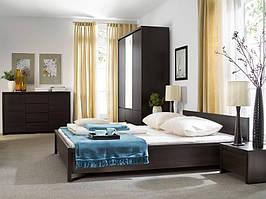 """Меблі у спальню """"Каспіан"""" від БРВ (венге)"""