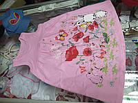 Платье детское летнее Трикотажное