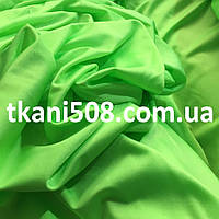 Бифлекс однотонный неон-салатовый