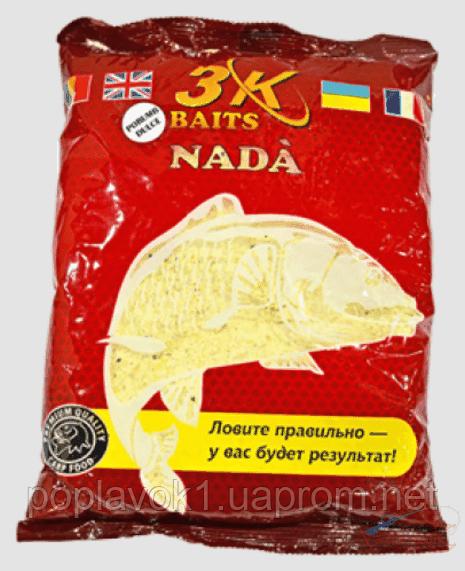 Прикормка 3K Baits Katyusha 1кг (Сладкая кукуруза)