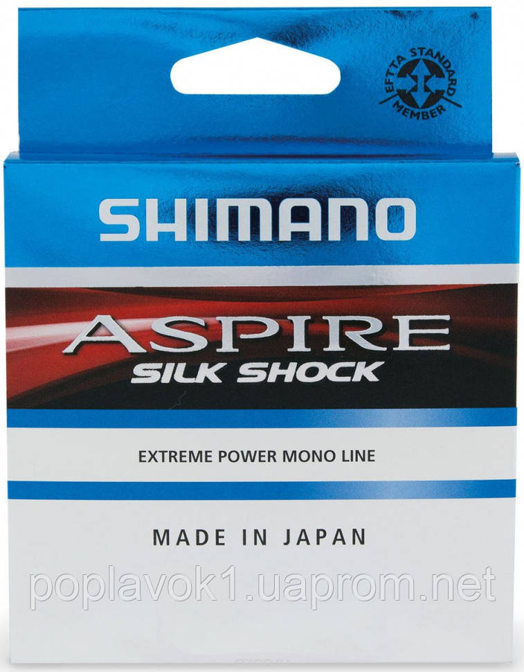 Леска Shimano Aspire Silk Shock 150м (0.125мм 1.7кг)