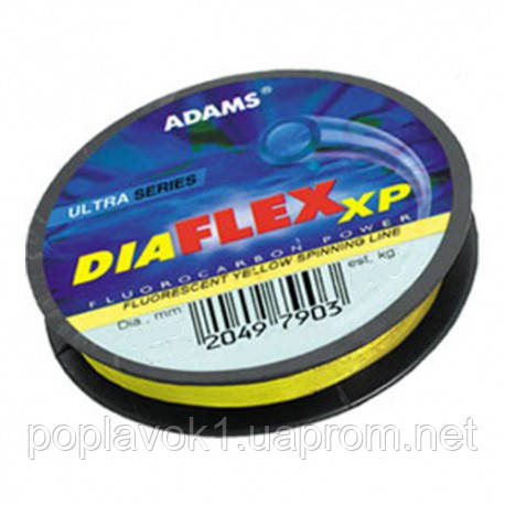 Леска Adams DiaFLEXxp 25м  (0.14мм 2.2кг)