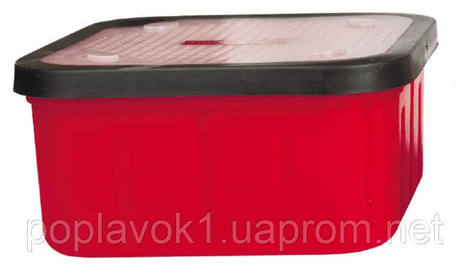 Коробка Bratfishing для наживок с прорезиненой крыштой большая