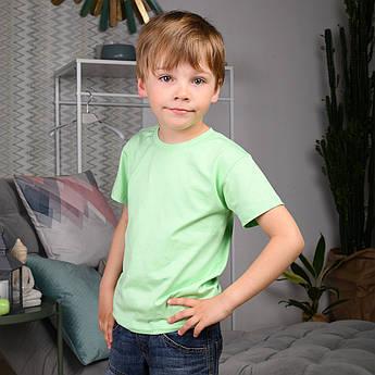 Детская футболка Салатовая Футболка для мальчиков и девочек | Дитяча футболка Салатовий