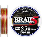 Шнур Sunline Super Braid 5 200м (#0.6/0.128мм 4кг)
