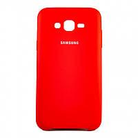 Чехол Silk Silicon для Samsung Galaxy J7 2015 J700/J7 Neo J701 Red (PC-003073)