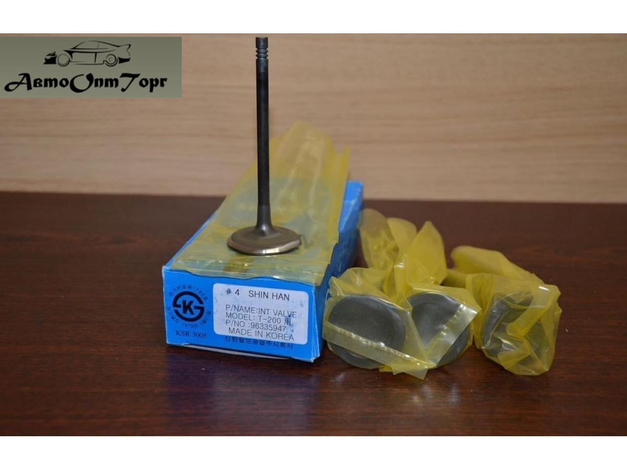 Клапана впускные Freccia на Chevrolet Aveo 1.5, model: R6399SNT, произ-во: General Motors (GM), кат. код: 96335947; (комплект)