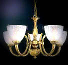 Люстры классические подвесные