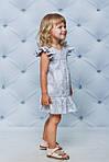 Платье детское с оборкой по низу Лимончики, фото 2