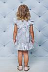 Платье детское с оборкой по низу Лимончики, фото 3