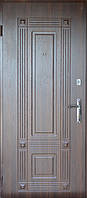 Дверь Портала Комфорт 950*2040*70 Премьер 2 (3D элементы) орех темный прав.