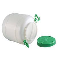 Бочка пластиковая пищевая 25 л Горизонт