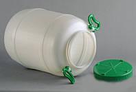 Бочка пластиковая пищевая 50 л Горизонт