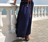 Летние юбки в пол, разные цвета, р С-ХХЛ