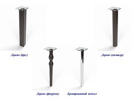 Стіл кухонний скляний Протидія, ніжки хром 91х61 *Еко (Бц-Стіл ТМ), фото 2