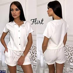 Женский комбинезон с шортами «Марципан»