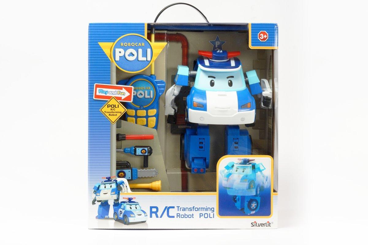 Pобот-трансформер Поли на радиоуправлении Robocar Poli 20 см Разноцветный (20180927V-1971)