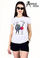 "Стильная футболка "" Овощи "" Angelo Style"