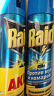 Raid-средство против мух и комаров