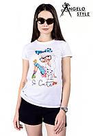 "Стильная футболка "" So Cute "" Angelo Style"